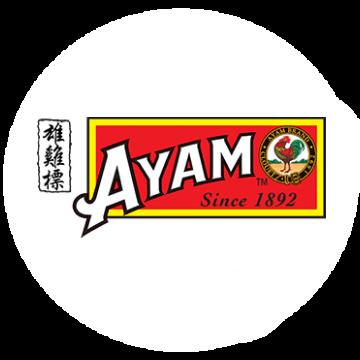 Ayam Brand Logo Round